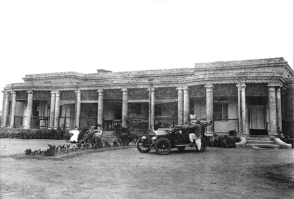 Bungalow Occupied By A British Family In Ranchi 20th Century Photograph Courtesy Of Major General RCA Edge